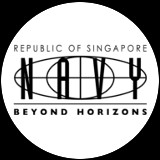 Temporary tattoo of Singapore Navy